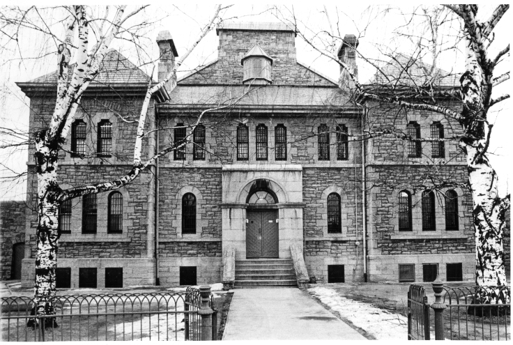 Niagara St.Jail-frontal