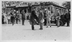 Greeting the Prince of Wales at the unveiling of the Cenotaph in August 1927 - St. Catharines Museum